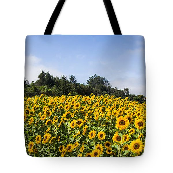 Sunflower Horizon Number 2 Tote Bag