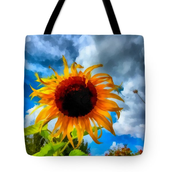Sunflower Inspiration Tote Bag
