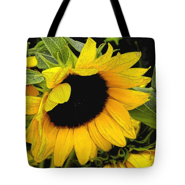 Tote Bag featuring the photograph Sunflower by James C Thomas