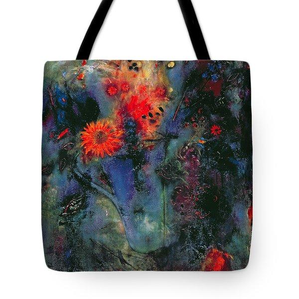 Sunflower Tote Bag by Jane Deakin