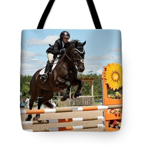 Sunflower Jumper Tote Bag