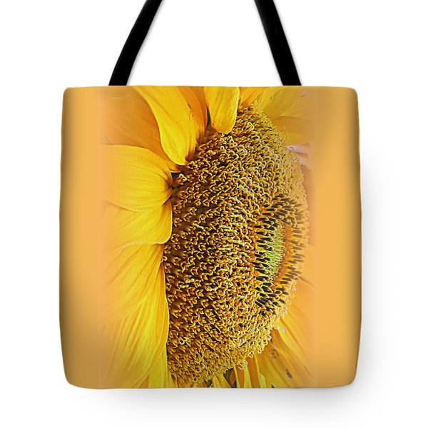 Sunflower Tote Bag by Kay Novy