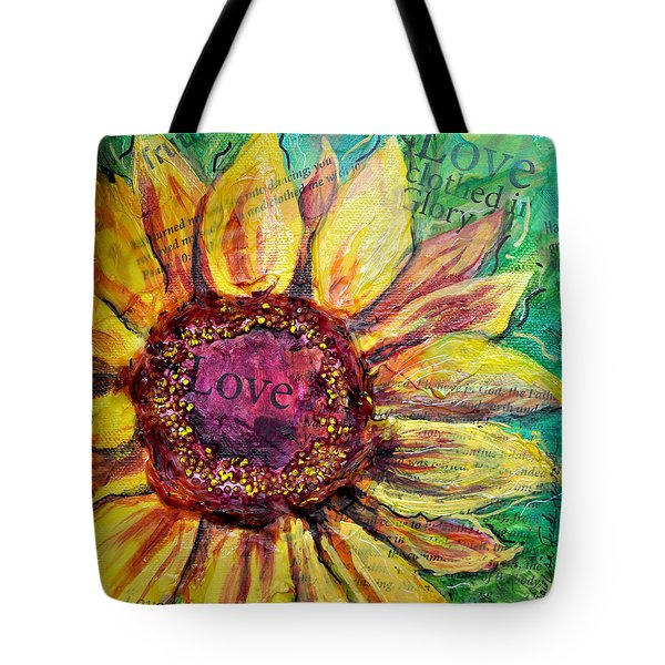 Sunflower Love  Tote Bag