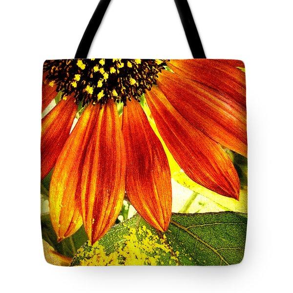 Sunflower Memories Tote Bag by Kathy Bassett
