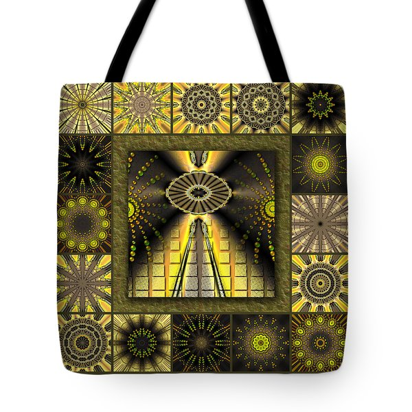 Sunflower Moon Redux Tote Bag