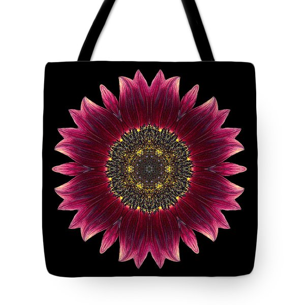 Sunflower Moulin Rouge I Flower Mandala Tote Bag