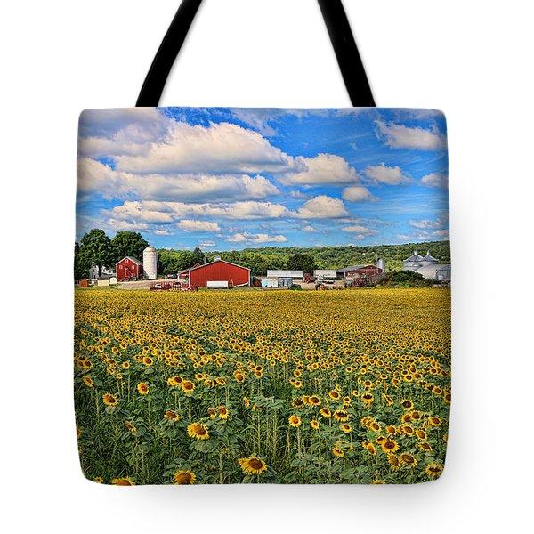 Sunflower Nirvana 17 Tote Bag