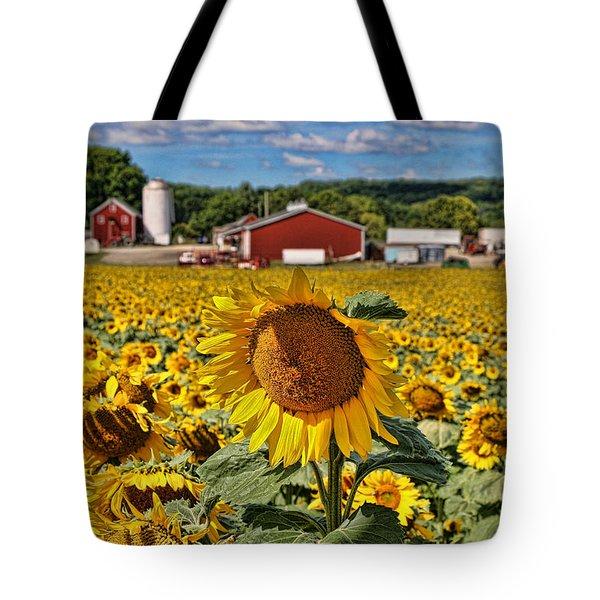 Sunflower Nirvana 21 Tote Bag