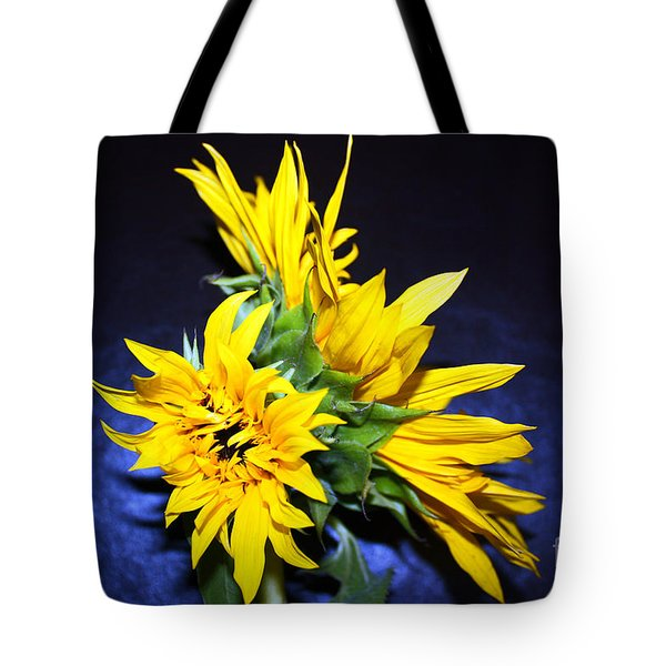 Sunflower Portrait Tote Bag