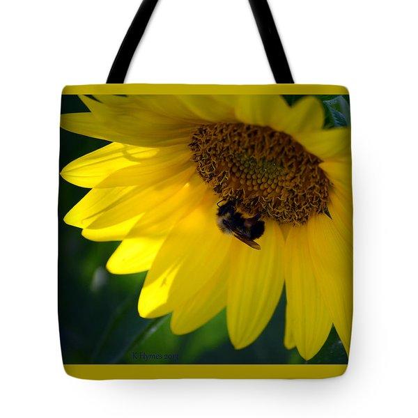 Sunflower Resort Tote Bag