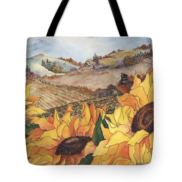 Sunflower Serenity Tote Bag