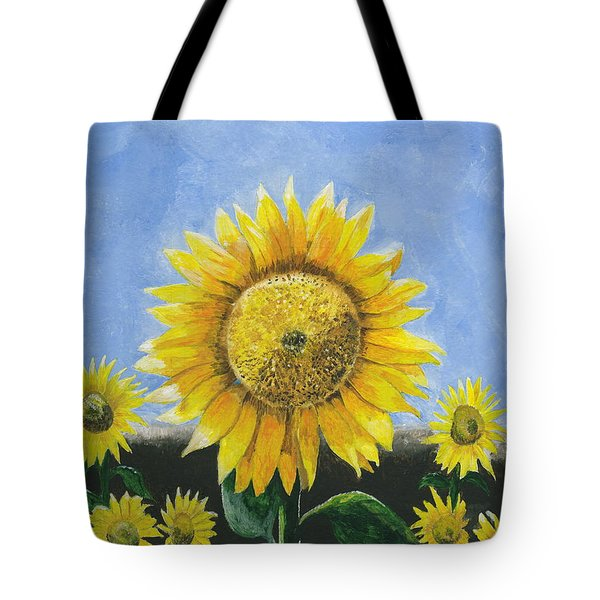 Sunflower Series One Tote Bag