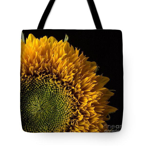 Sunflower Square Tote Bag