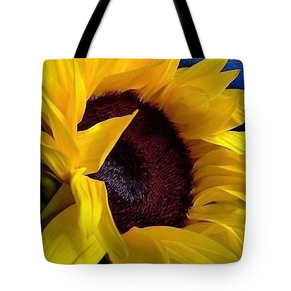 Sunflower Sunny Yellow In New Orleans Louisiana Tote Bag