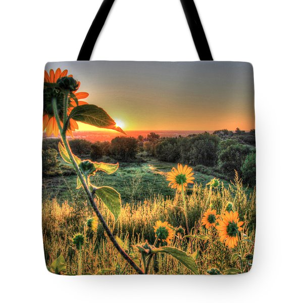 Sunflower Sunrise 1 Tote Bag