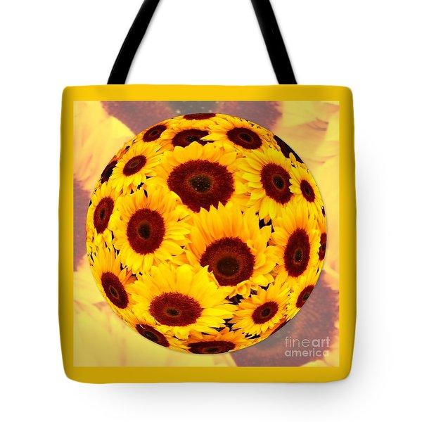 Sunflower Sunshine Tote Bag