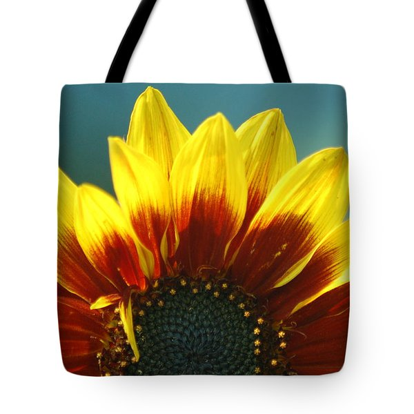 Tote Bag featuring the photograph Sunflower by Tam Ryan