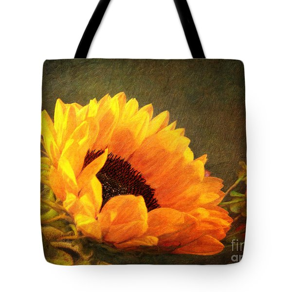 Sunflower - You Are My Sunshine Tote Bag