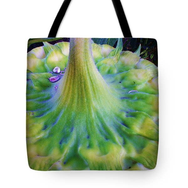Tote Bag featuring the photograph Sunflower...moonside 1 by Daniel Thompson