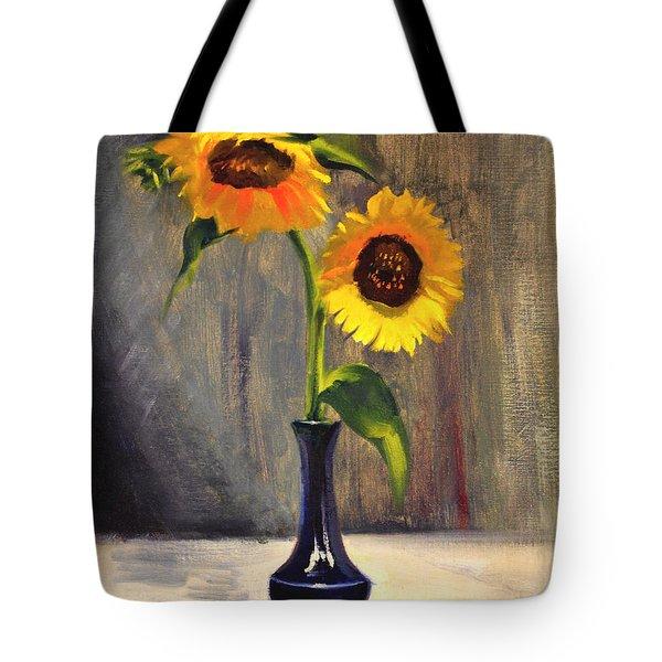 Sunflowers - Adoration Tote Bag