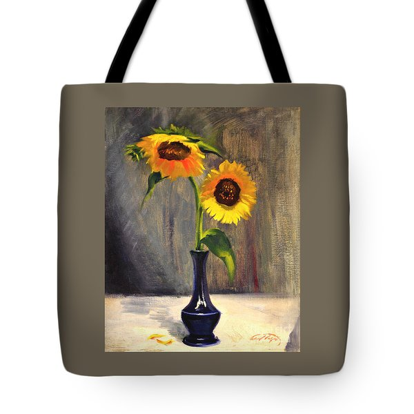Sunflowers - Adoration Tote Bag