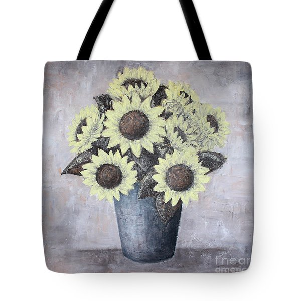 Sunflowers Tote Bag by Home Art