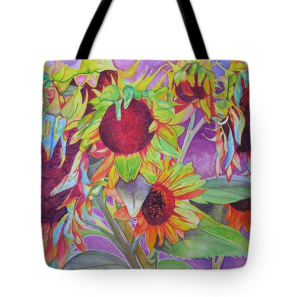 Sunflowers Tote Bag by Joshua Morton