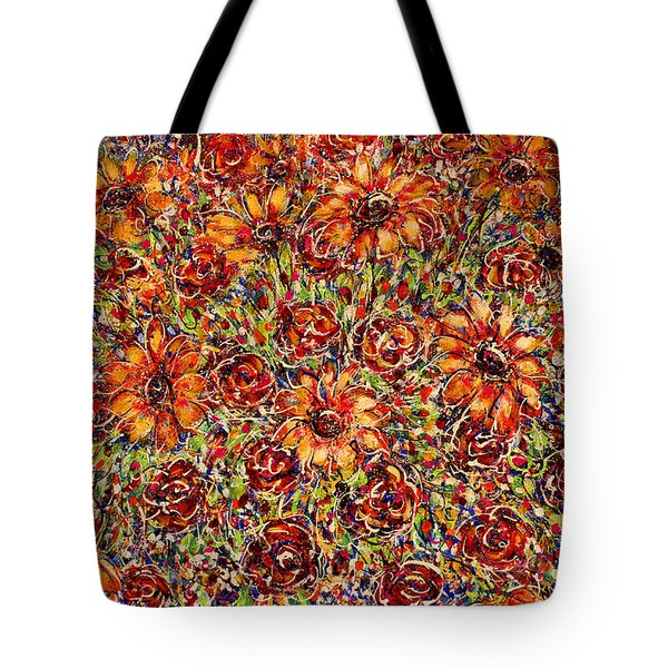 Sunflowers  Tote Bag by Natalie Holland
