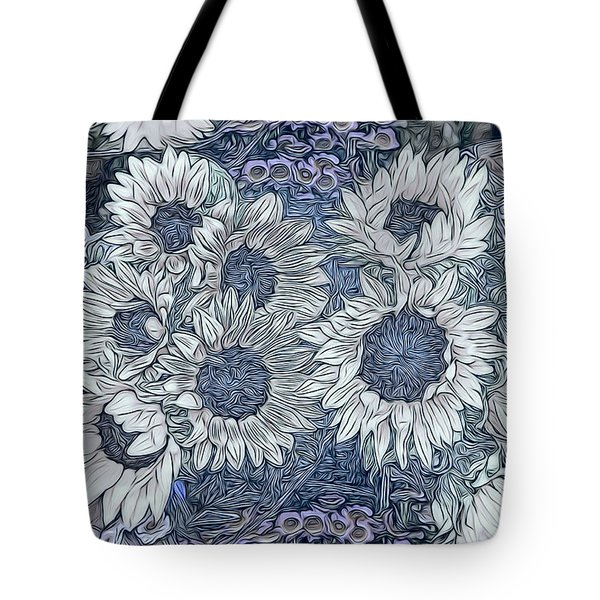 Sunflowers Paris Tote Bag