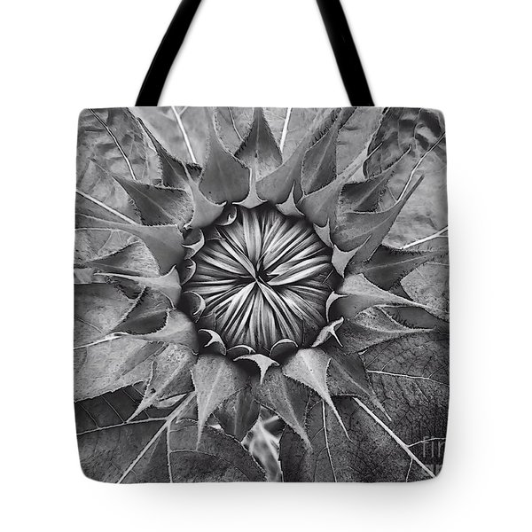 Sunflower's Shades Of Grey Tote Bag