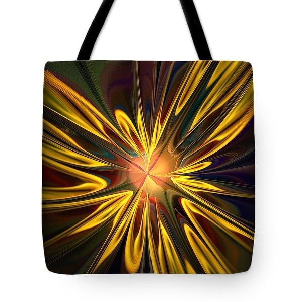 Sunglow Tote Bag by Anastasiya Malakhova