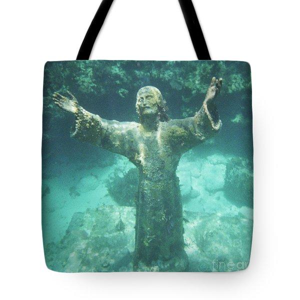 Sunken Savior Tote Bag