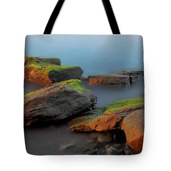 Sunkissed Rocks Tote Bag
