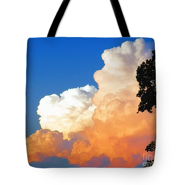 Sunkissed Storm Cloud Tote Bag