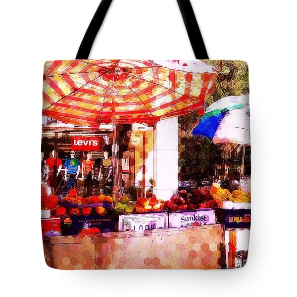 Tote Bag featuring the photograph Sunkist by Miriam Danar