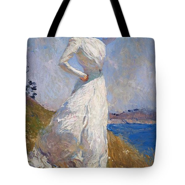 Sunlight Frank Weston Benson 1909 Tote Bag by Movie Poster Prints