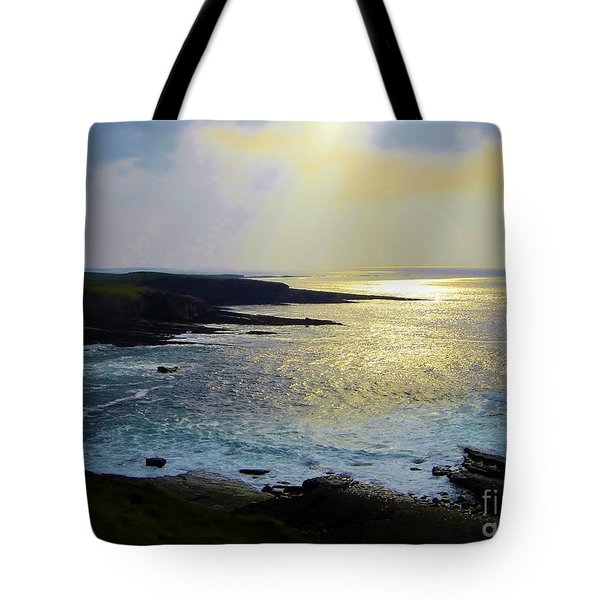 Sunlight On The Bay Tote Bag