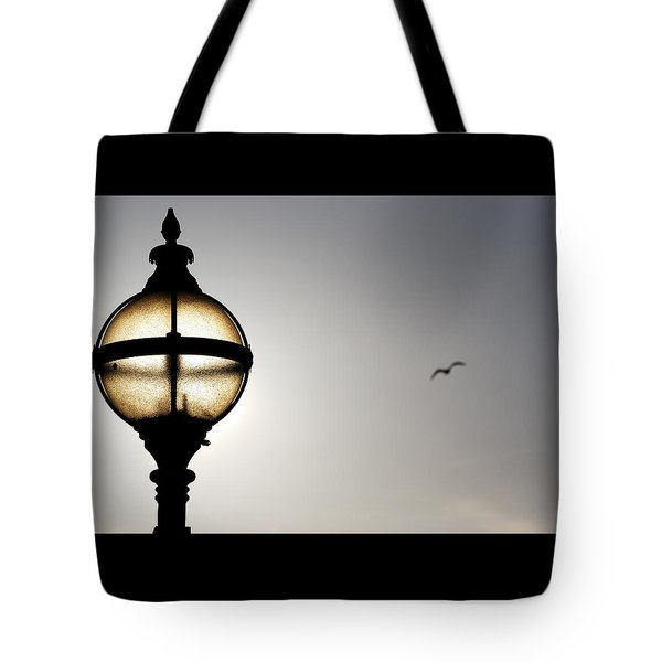 Tote Bag featuring the photograph Sunlight by Wendy Wilton