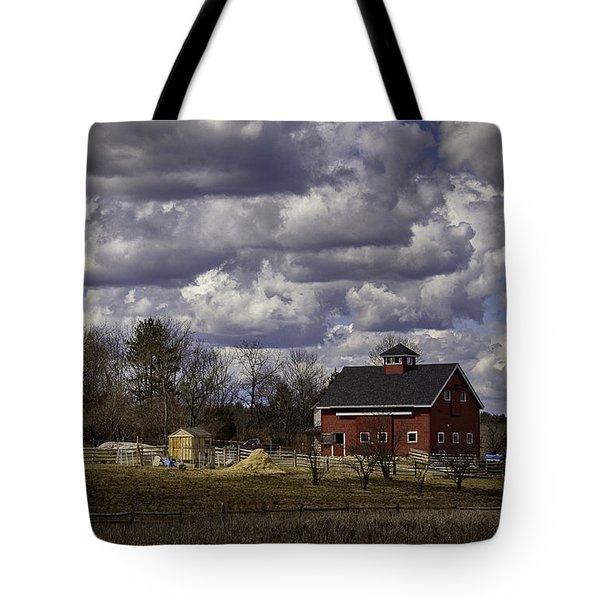 Sunlit Farm Tote Bag