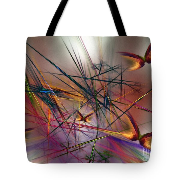 Sunny Day-abstract Art Tote Bag