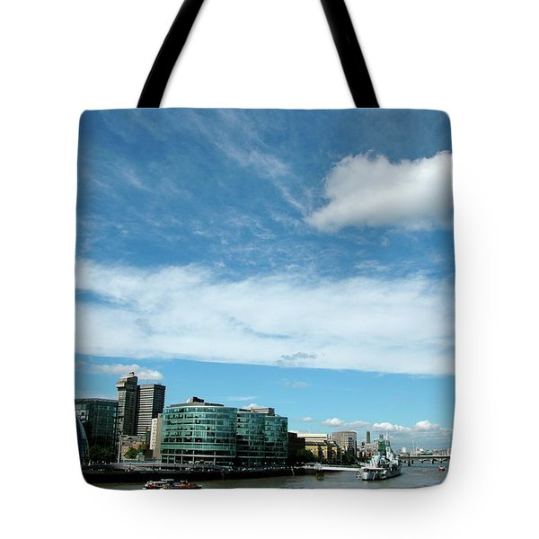 Sunny Day London Tote Bag by Jonah  Anderson