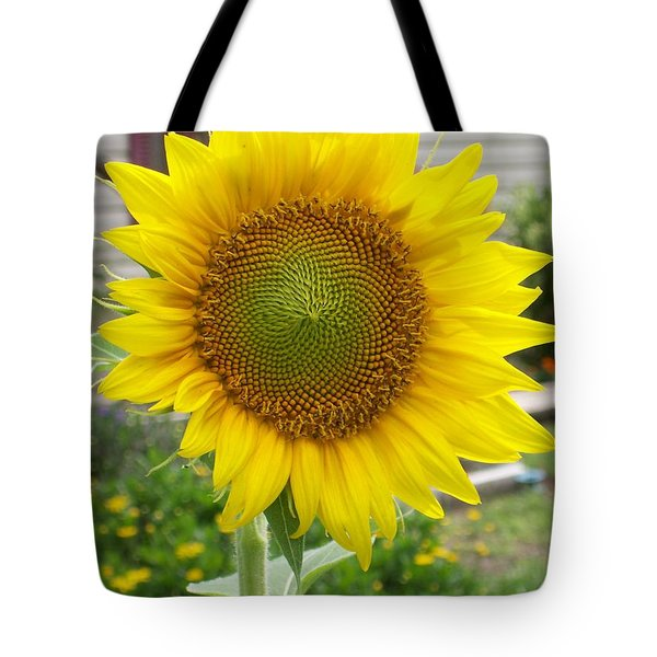 Tote Bag featuring the photograph Bright Sunflower Happiness by Belinda Lee