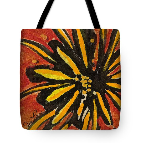 Tote Bag featuring the painting Sunny Hues Watercolor by Joan Reese