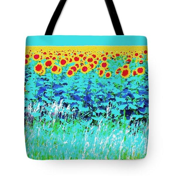 Sunny Kansas Tote Bag
