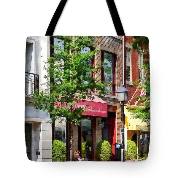 Alexandria Va - Sunny Morning Tote Bag