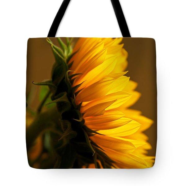 Sunny Profile Tote Bag