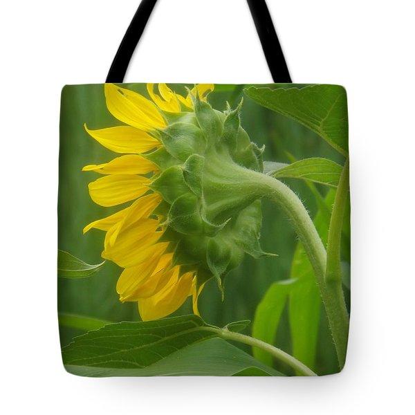 Sunny Profile Tote Bag by Sara  Raber