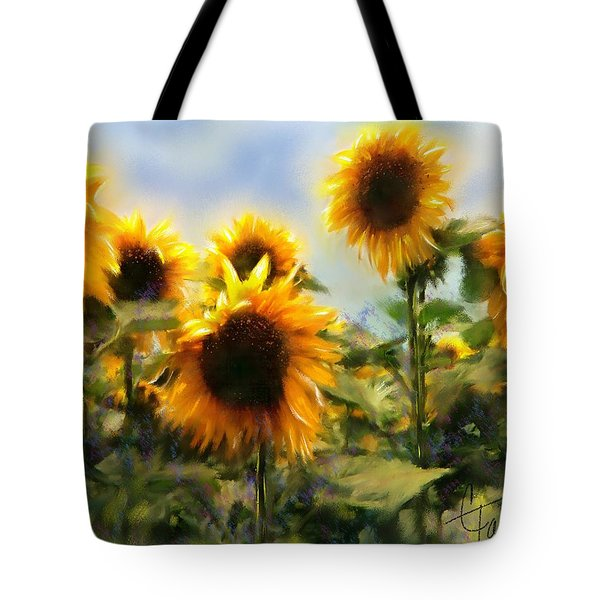 Sunny-side Up Tote Bag by Colleen Taylor