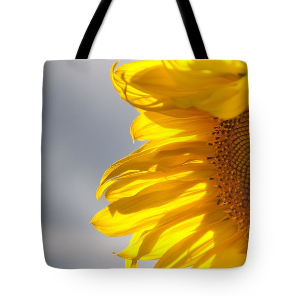 Tote Bag featuring the photograph Sunny Sunflower by Cheryl Baxter