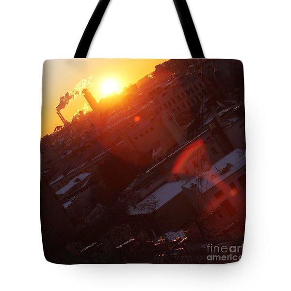 Sunrise  Tote Bag by Anna Yurasovsky